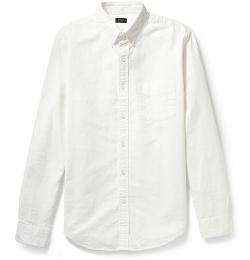 J.Crew - Button-Down Collar Cotton Oxford Shirt