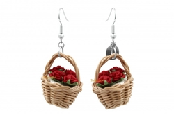 Belgazou - Flowery Baskets Earrings