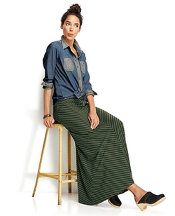 Hannah Anderson - Chevron Maxi Skirt