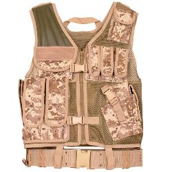 galaxyarmynavy - Digital Desert Camouflage - MACH-1 Tactical Assault Vest