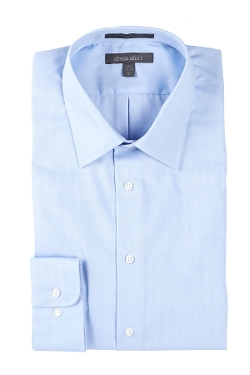 Nordstrom Rack  - Non-Iron Pinpoint Trim Fit Dress Shirt