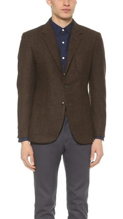 Brooklyn Tailors - Tweed Herringbone Blazer