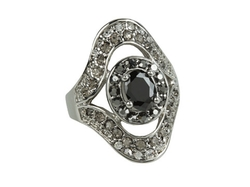 Guess - Onyx Stone Ring