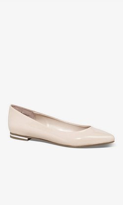 Express - Patent Pointed Toe Flat