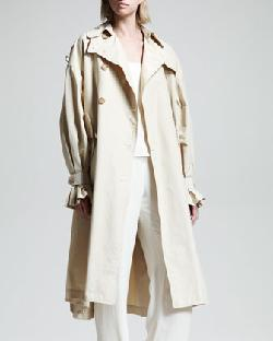 THE ROW - Stretch-Cotton Trenchcoat
