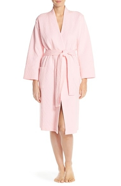 Natori - Quilted Cotton Blend Robe