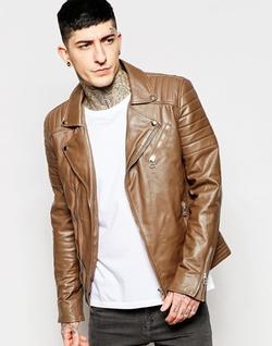 Goosecraft  - Leather Perfecto Biker Jacket
