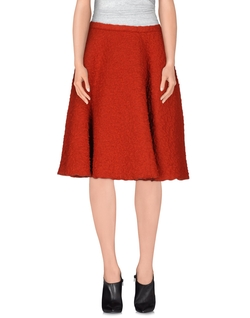 Hache - Knee Length Skirt
