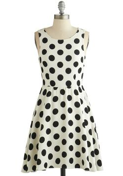 Modcloth - Dot You Forget About Me Dress