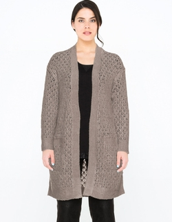 Via Appia Due - Long Ajour Cardigan