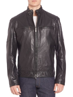 Strellson  - Deeray Leather Jacket