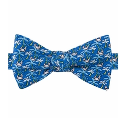 Tommy Hilfiger - Tropical-Print To-Tie Bow Tie
