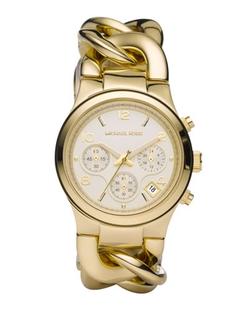 Michael Kors - Chain-Link Watch, Shiny Golden