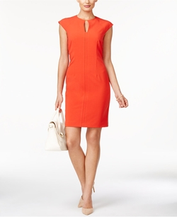Tahari ASL  - Seamed Sheath Dress