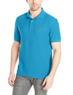 Nautica  - Solid Deck Short-Sleeve Polo Shirt
