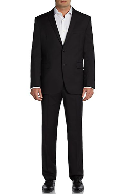 Saks Fifth Avenue Red - Trim-Fit Solid Wool Suit