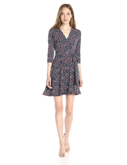 Taylor - Faux-Wrap Dress