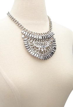Forever 21 - Half Circle Statement Necklace