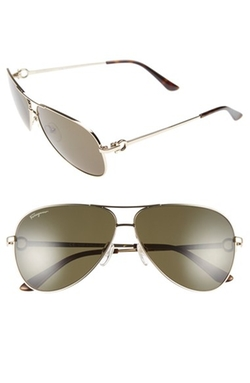 Salvatore Ferragamo - Aviator Sunglasses