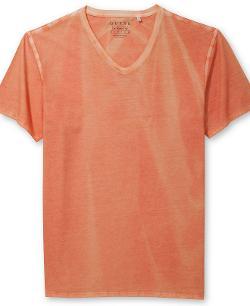 Guess  - Gunnar Washed V-Neck T-Shirt