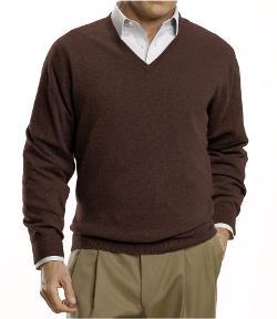 JOS. A. BANK - Cashmere V-Neck Sweater