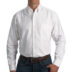 Sierra Trading Post - Woven Cotton Oxford Shirt