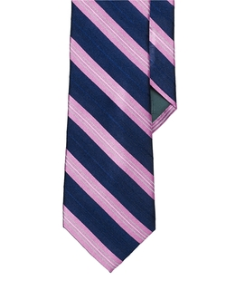 Lauren Ralph Lauren - Striped Chevron Silk Tie