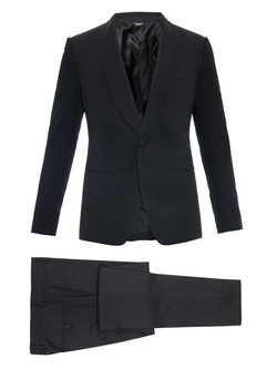 Dolce & Gabbana - Martini-Fit Wool And Silk-Blend Tuxedo
