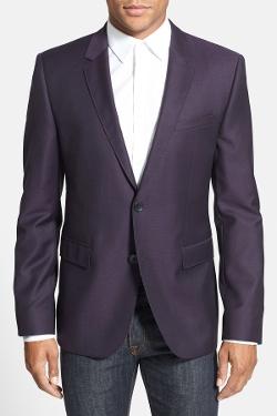 Hugo Boss  - Aeris Trim Fit Wool Blazer