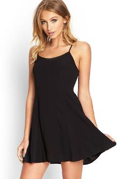 Forever21 - Cutout Back Slip Dress