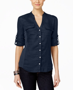 Inc International Concepts - Utility Blouse