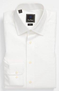 David Donahue  - Trim Fit Dress Shirt
