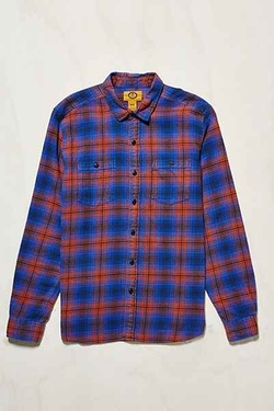 Stapleford  - Tucker Acid Flannel Button-Down Shirt
