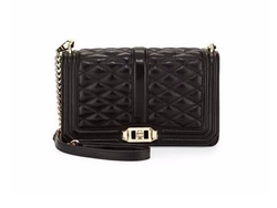 Rebecca Minkoff  - Love Quilted Leather Crossbody Bag