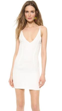Olcay Gulsen - Cross Back Mini Dress