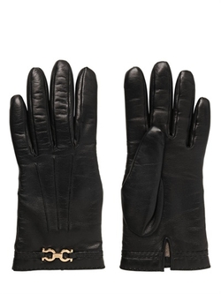 Salvatore Ferragamo - Gancini Nappa Leathers Gloves