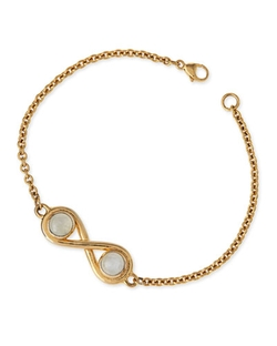 Pamela Love - Infinite Gold-Plated Moonstone Bracelet
