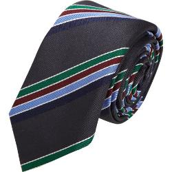 Barneys New York   - Textured Diagonal Stripe Tie