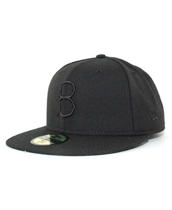 New Era - Brooklyn Dodgers Black on Black Fashion