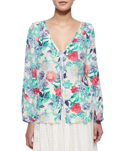Joie - Ollie Floral-Print Blouse