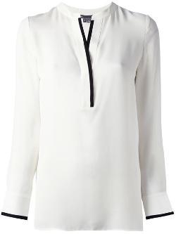 Vince - trim detail blouse
