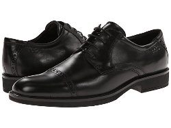 Ecco  - Biarritz Classic Cap Toe Shoes