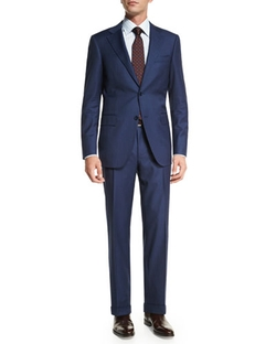 Canali	  - Sienna Contemporary-Fit Striped Two-Piece Suit