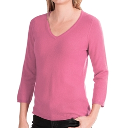 In Cashmere - V-Neck Cashmere Sweater