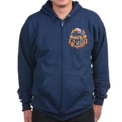 Royal Lion  - Zip Hoodie Jacket