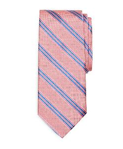 Brooks Brothers - Natte Satin Double Stripe Tie