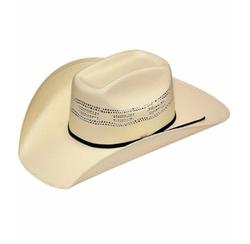 Twister - Bangora Straw Cowboy Hat