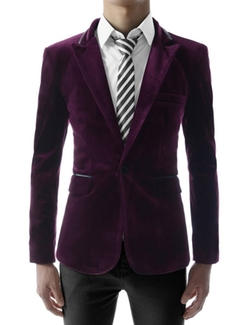 Thelees - Single Breasted Peaked Blazer