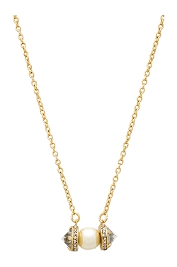 Rebecca Minkoff - Crystal Pearl Pendant Necklace