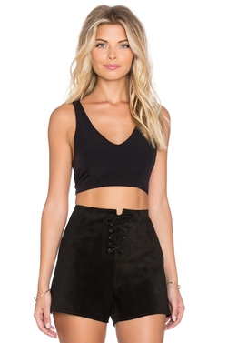 Lucca Couture - Racerback Crop Top